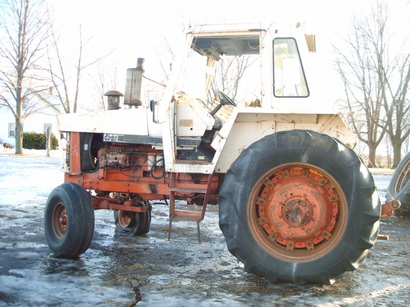 Panning Brothers Tractor Parts - Tractors Disassembled: 945